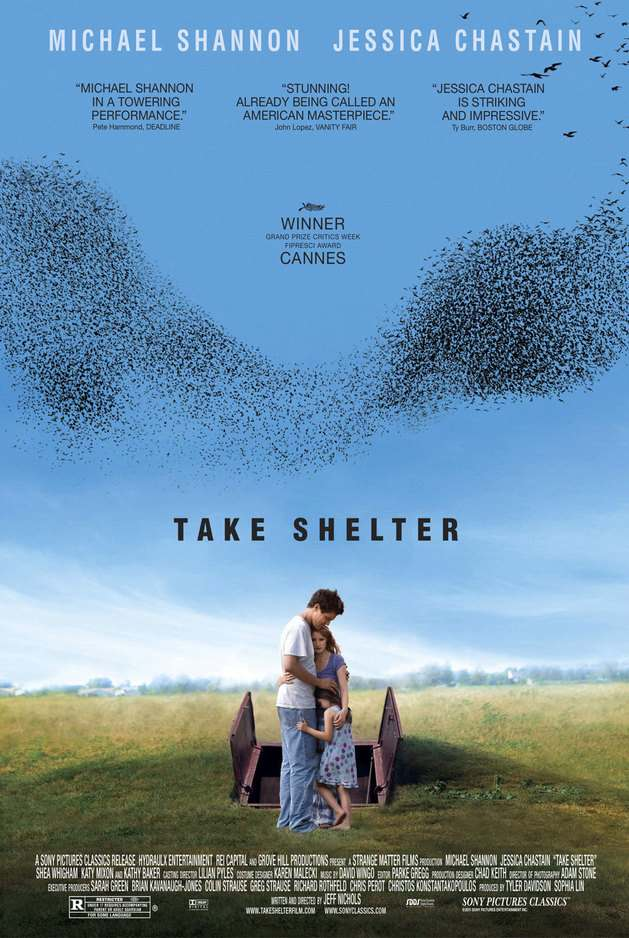 "Poster for ""Take Shelter"" (2011)"