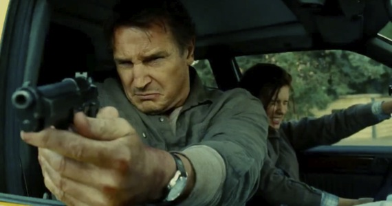 "Scene from ""Taken 2,"" starring Liam Neeson, which grossed $50 million its opening weekend."