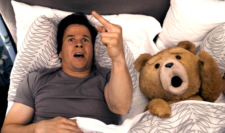 """Ted"" (2012): When you hear the sound of thunder, / Don't you get too scared. / Just grab your thunder buddy / And say these magic words..."