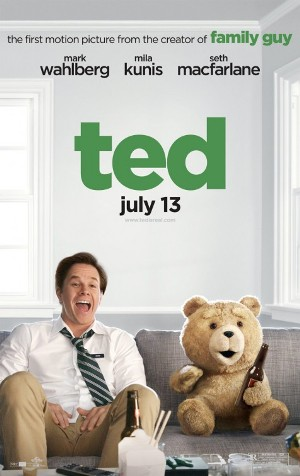 "Movie poster for Seth MacFarlane's ""Ted"" (2012)"