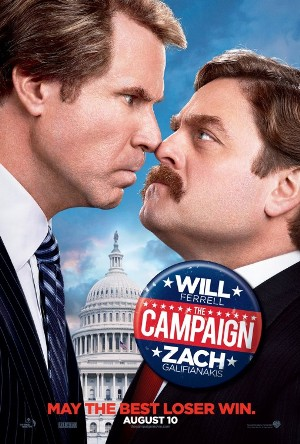 """The Campaign"" (2012) starring Will Ferrell and Zach Galifianakis"