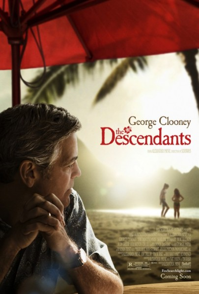 "Movie poster for ""The Descendants"" (2011)"