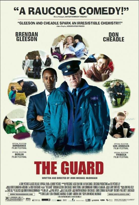 "Poster for ""The Guard"" (2011)"