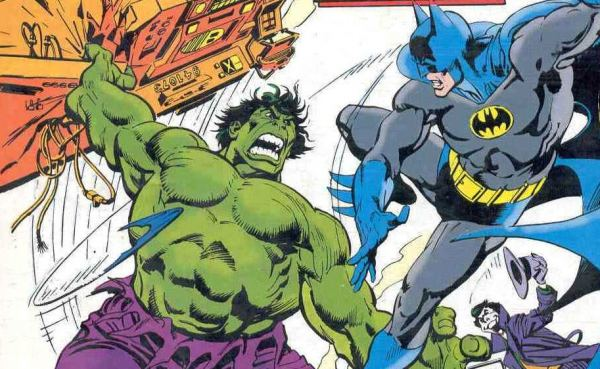 The Hulk vs. Batman, circa 1981