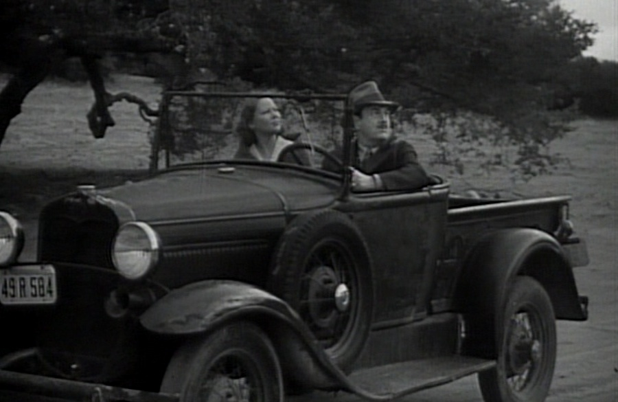 The Kents, X and Y, in 1948 (Superman, the serial)