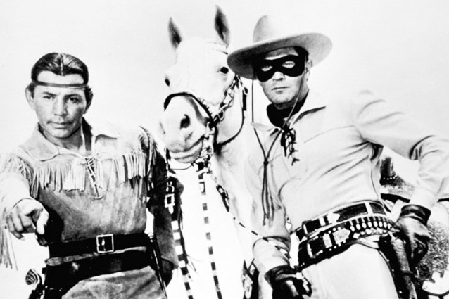 The Lone Ranger and Tonto in the 1950s