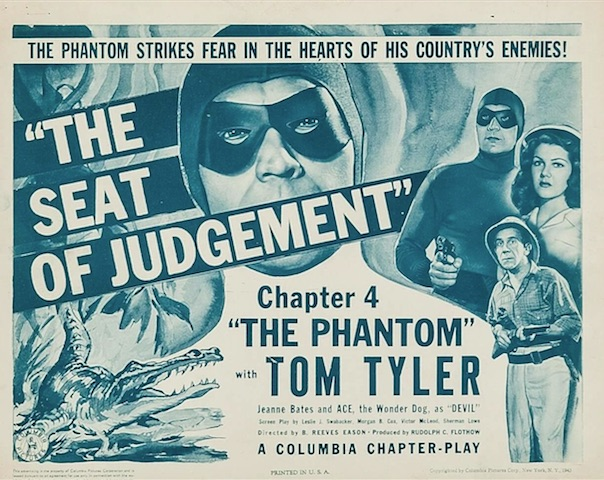Review of the 1943 Phantom movie serial