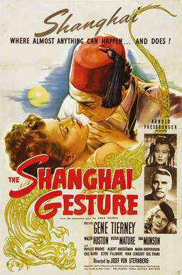 The Shanghai gesture movie review Casablanca