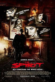 "poster for Frank Miller's ""The Spirit"" (2008)"