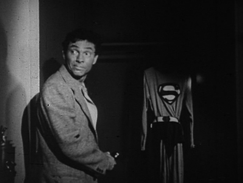 "Screenshot from ""The Stolen Costume,"" Season 1, Episode 13 of ""Adventures of Superman"""