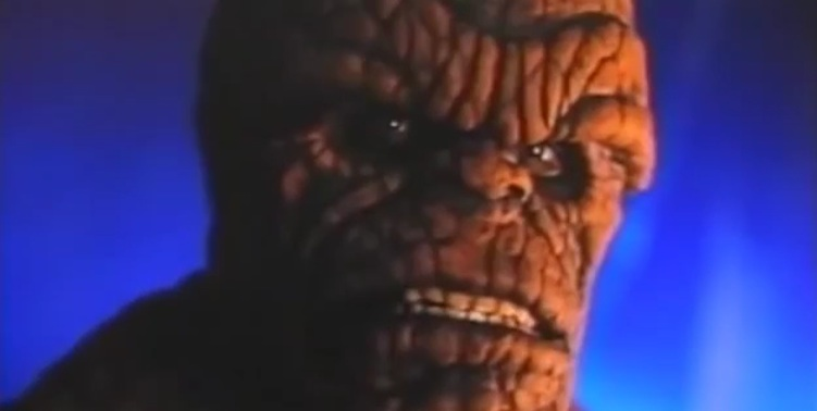 The Thing from the 1994 Fantastic Four movie