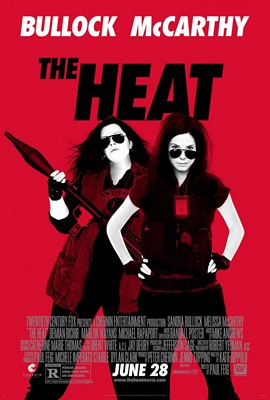 The Heat (2013), starring Sandra Bullock and Melissa McCarthy