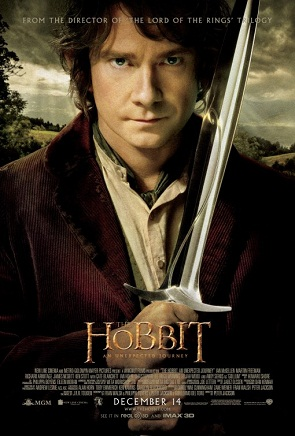 "Poster for Peter Jackson's ""The Hobbit: An Unexpected Journey"" (2012)"