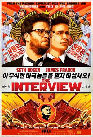 The Interview, with Seth Rogen and James Franco