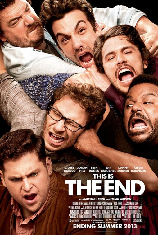 This is the End, starring Seth Rogen