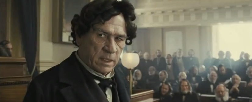 "Tommy Lee Jones in ""Lincoln"""