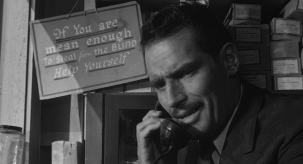 "Charlton Heston in Orson Welles' ""Touch of Evil"" (1958)"
