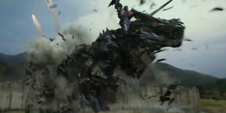 Dinobots in Transformers: Age of Extinction