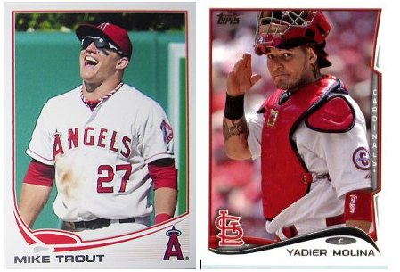 Mike Trout Yadier Molina