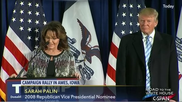 Palin endorses Trump
