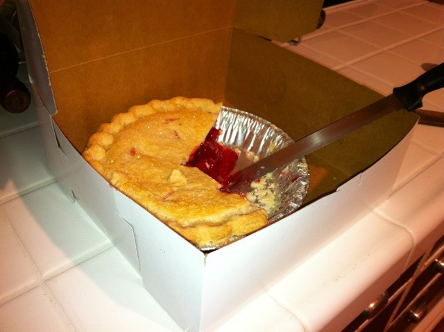 "The ""Twin Peaks"" cherry pie from Twede's Cafe in North Bend, Wash."