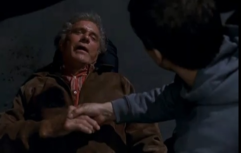 "The death of Uncle Ben in ""Spider-Man"" (2002)"