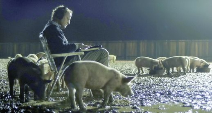 Upstream Color's pig farmer