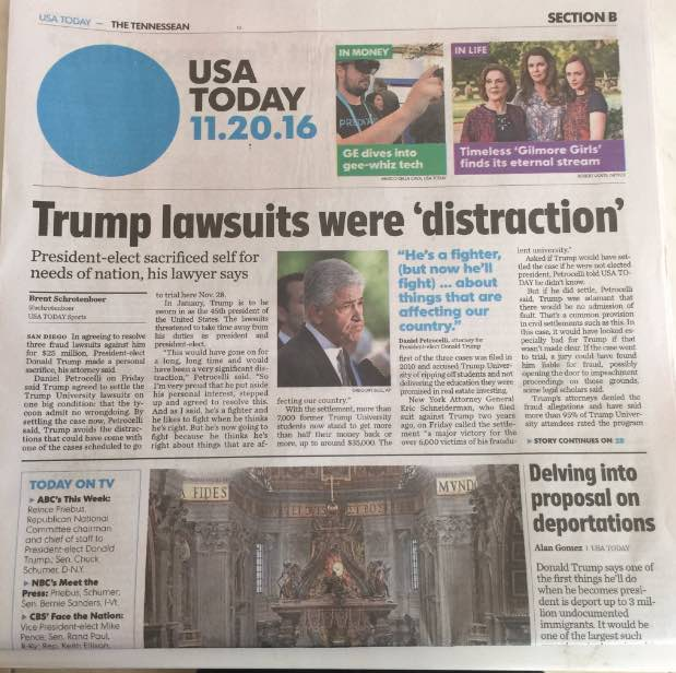 USA Today trump headline: conservative media