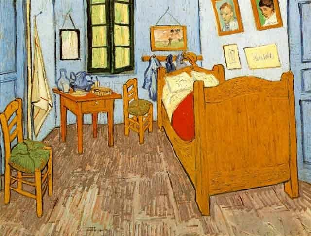 "Vincent Van Gogh, ""Bedroom at Arles,"" 1888"