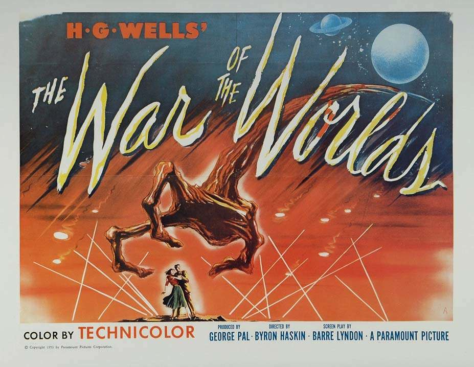"poster for ""War of the Worlds"" (1953)"