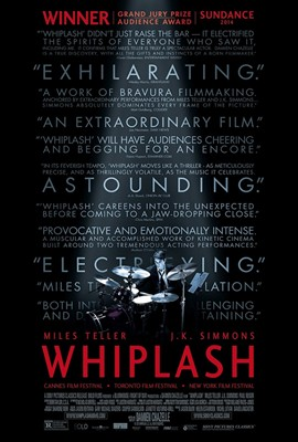 Whiplash, with Miles Teller and J.K. Simmons