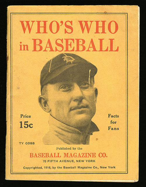 Who's Who in Baseball 1916