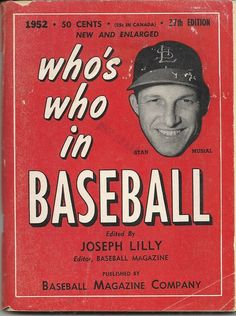 Who's Who in Baseball 1952
