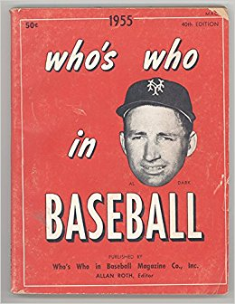 Who's Who in Baseball 1955