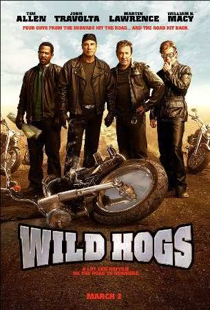 "poster for ""Wild Hogs"""