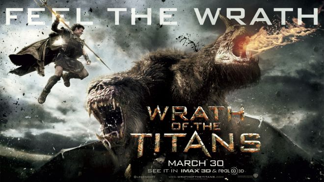 "Banner poster for ""Wrath of the Titans"" (2012)"