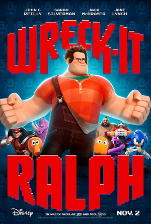 poster for Disney's Wreck-It Ralph (2012)