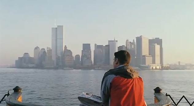 "Scene from Oliver Stone's ""World Trade Center"" (1996)"