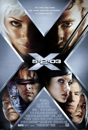 "Poster for ""X2"" or ""X-Men 2"" (2003)"