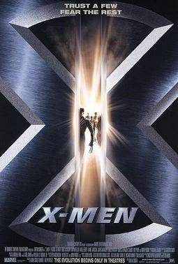 "Movie poster for ""X-Men"" (2000)"
