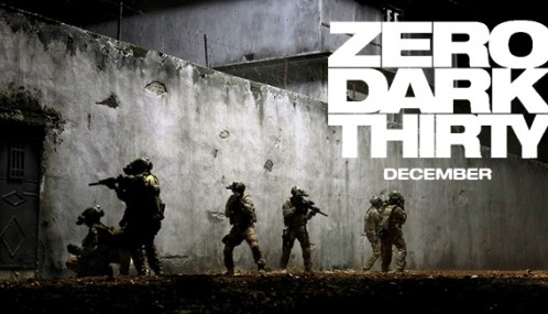 Zero Dark Thirty horizontal poster