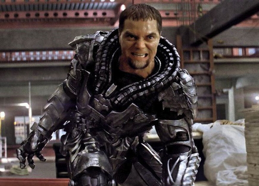 "Michael Shannon as Gen. Zod in ""Man of Steel"""