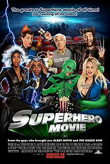 poster for Superhero Movie