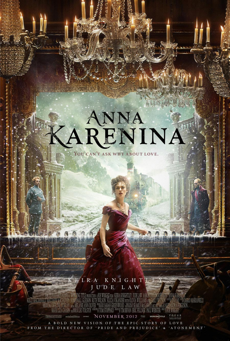 Anna Karenina (2012) by Joe Wright and Tom Stoppard