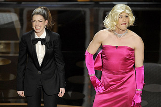 Anne Hathaway and James Franco at the 2011 Academy Awards