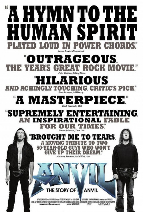 "Poster for ""Anvil!"" (2009)"