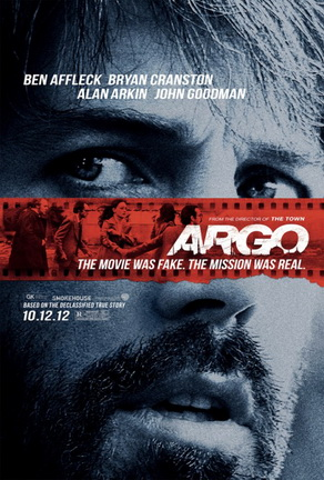 "Movie poster for Ben Affleck's ""Argo"" (2012)"
