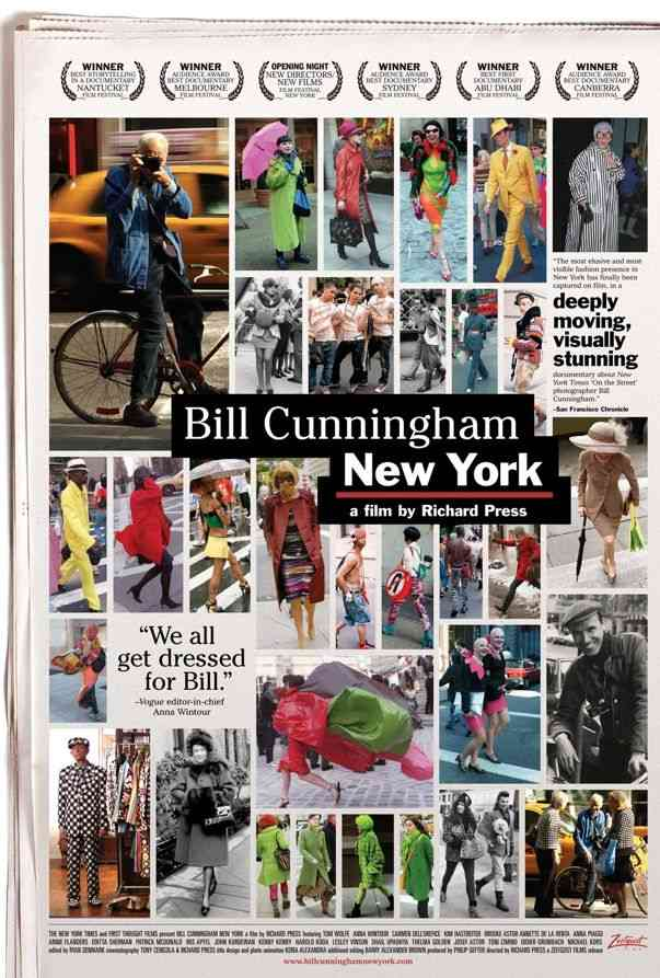 "Poster for ""Bill Cunningham New York"" (2011)"