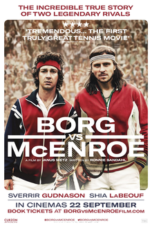 Borg vs. McEnroe movie review