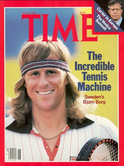 Bjorn Borg Time cover